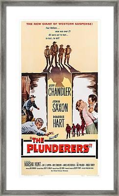 The Plunderers, Us Poster Art Framed Print
