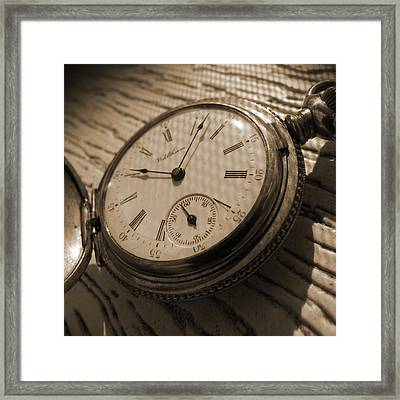 The Pocket Watch Framed Print by Mike McGlothlen