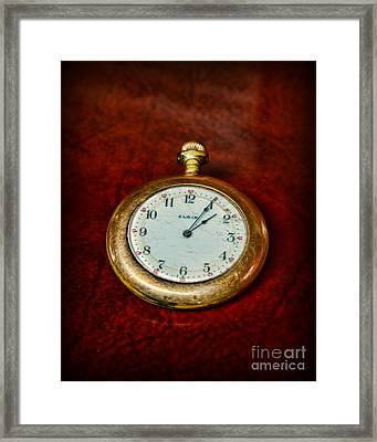 The Pocket Watch Framed Print