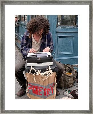 The Poet Framed Print