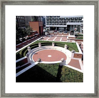 The Poet's Circle Framed Print by British Library