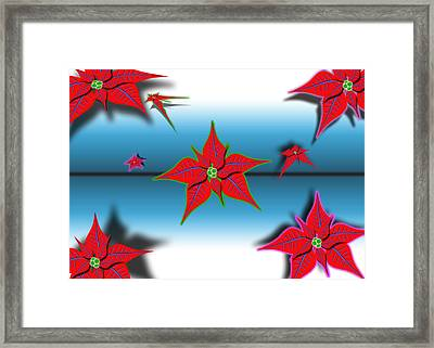 The Point Of It All Framed Print by Hank Lerma