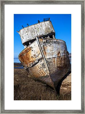 The Point Reyes Framed Print by Garry Gay