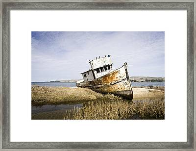 The Point Reyes Framed Print by Priya Ghose
