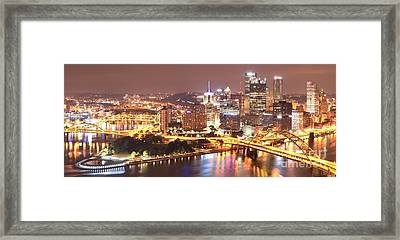The Point To Ft. Pitt Framed Print