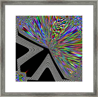 The Point Framed Print by Will Borden