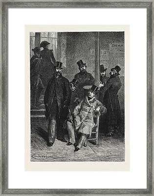 The Police Arrested The Police, History Of A Crime Framed Print by English School