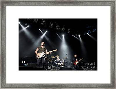 The Police Framed Print by Jason O Watson