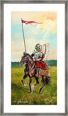 The Polish Winged Hussar Framed Print