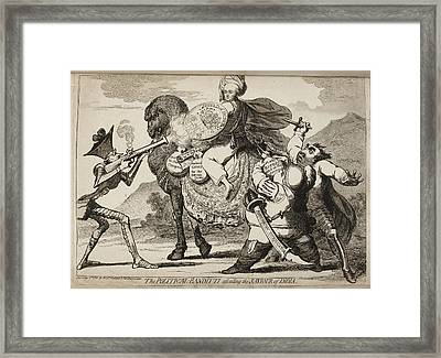 The Political-banditti Framed Print by British Library