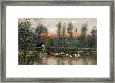 The Pond Of William Morris Works Framed Print