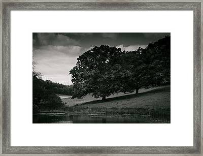 Framed Print featuring the photograph The Pond by Stewart Scott