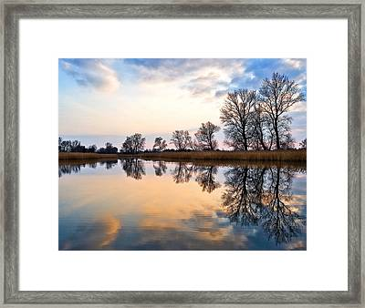 Ponds In Lomna Framed Print