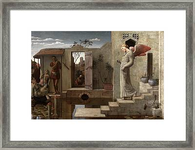 The Pool Of Bethesda Signed And Dated Framed Print by Litz Collection