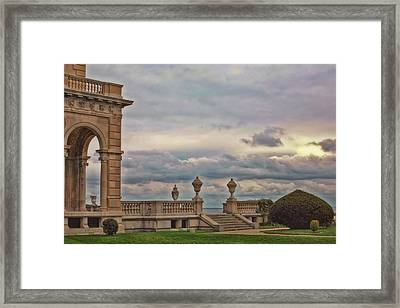 The Porch Framed Print by Joann Vitali