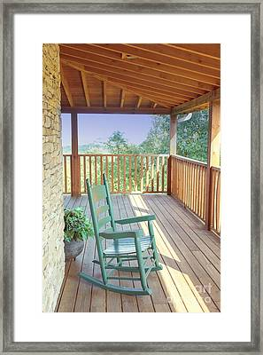 The Porch Framed Print by Kay Pickens