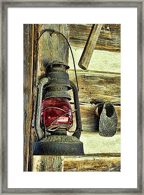 The Porch Light Framed Print