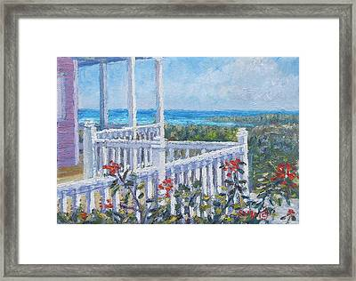 The Porch Framed Print