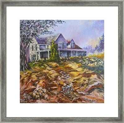 The Porch View Framed Print