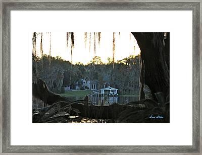 The Port Framed Print