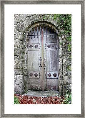 The Portal Framed Print