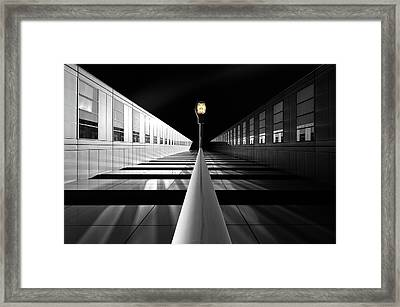 The Portal For Silver Mountains Framed Print