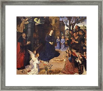 The Portinari Triptych Framed Print by Hugo van der Goes