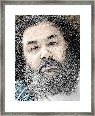 The Portrait  Framed Print by Stephen Norris