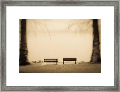 The Possibilities Framed Print by Takeshi Okada