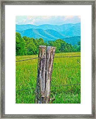 The Post Framed Print by Southern Photo