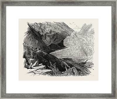 The Post Office And Bellows, The South Coast Framed Print by English School