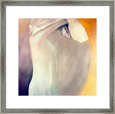 The Potential Of Death/birth Framed Print