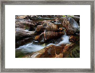 The Potholes Framed Print by Mike Farslow
