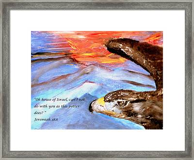 The Potter And The Clay Framed Print by Amanda Dinan