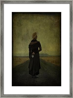 The Power Of Goodbye Framed Print