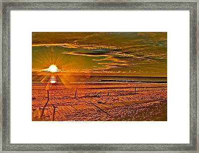 The Power Of Light Framed Print by Joe  Burns