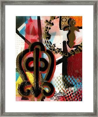 The Power Of Love Framed Print