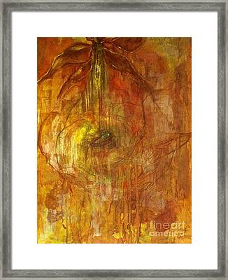 Framed Print featuring the painting The Power Of Love by Delona Seserman