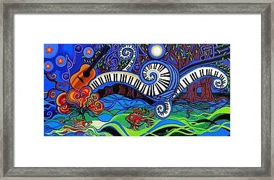 The Power Of Music Framed Print