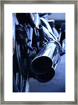 The Power Of Steel  Framed Print by Renee Anderson