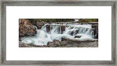 The Power Of Water Framed Print