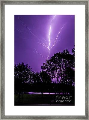 The Power Framed Print by Will  Gottwald