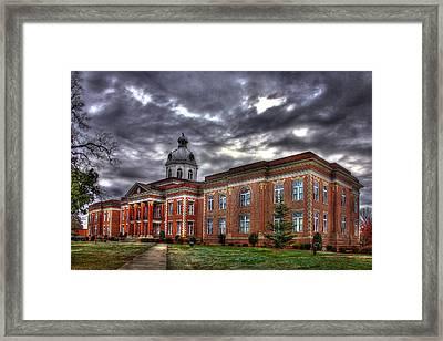 The Powerhouse Putnam County Court House Framed Print