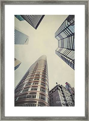 The Powers Above Framed Print by Evelina Kremsdorf