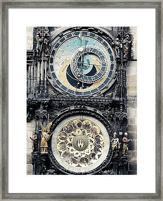 The Prague Orloj Framed Print