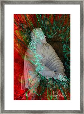 The Prayer Framed Print by Rick Rauzi