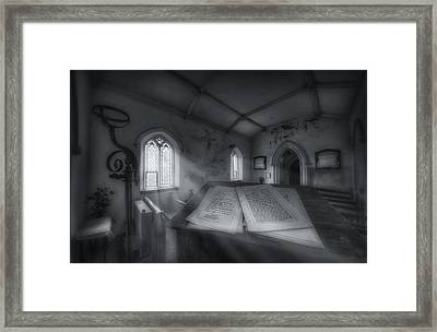 The Preachers Place Framed Print