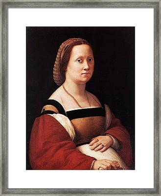 The Pregnant Woman Framed Print