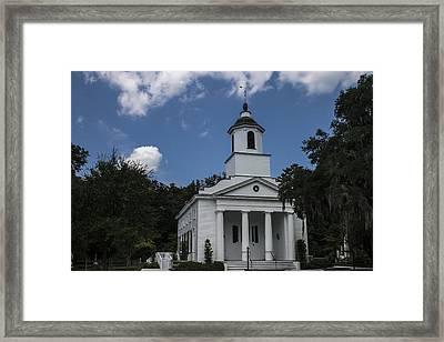 The Presbyterian Church On Edisto Island Framed Print by Steven  Taylor