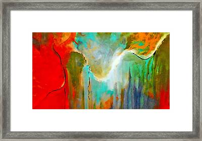 The Presence Framed Print